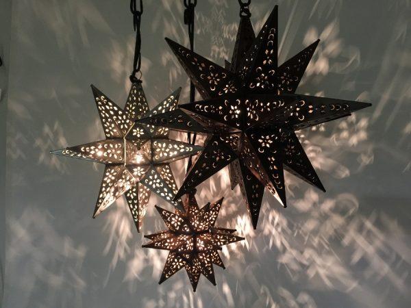 Tin Moravian Star Cluster
