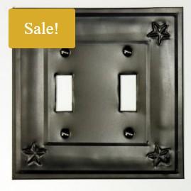 Metal Switch plate star design