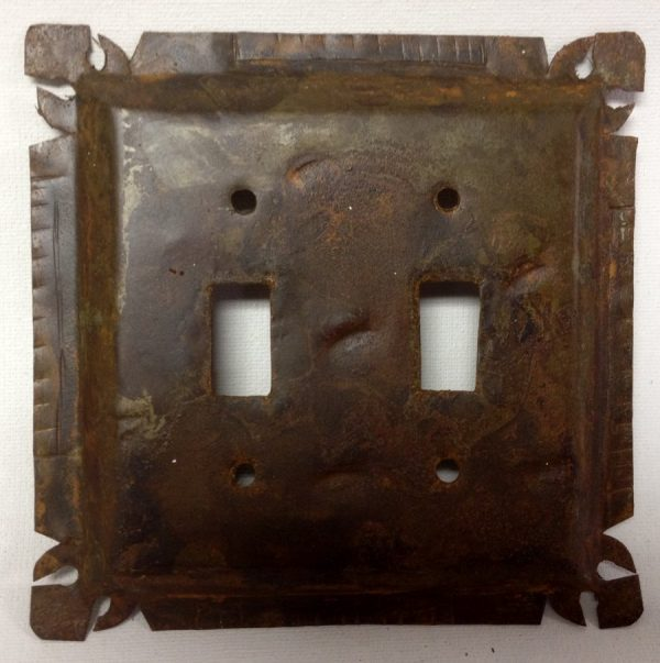 Switch Plate - Rustic Tin w/Cut Corner